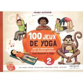 Livre 100 jeux de yoga