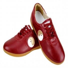 Chaussures YIN/YANG rouge de chine
