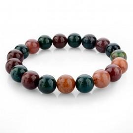 Bracelet pierres naturelles jaspe fantaisie