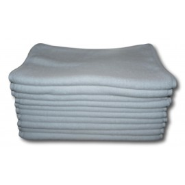 Lot de 10 Serviettes de massage Blanches gamme spa 34 x 76 cm