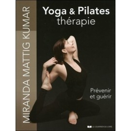 Livre Yoga & Pilates thérapie